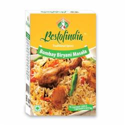 Смесь специй для плова Бомбей Бирьяни Масала Бестофиндия (Bestofindia Bombay Biryani Masala), 100г