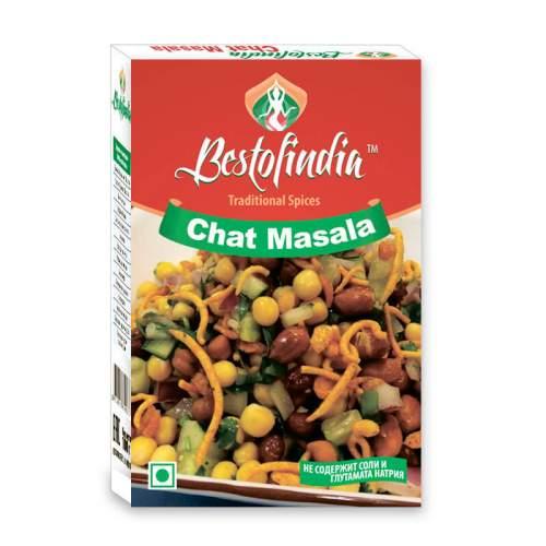 Смесь специй для салатов Чат Масала Бестофиндия (Bestofindia Chat Masala), 100г