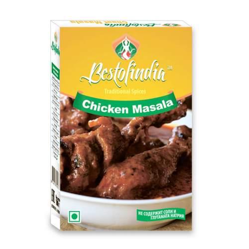 Смесь специй для курицы Чикен Масала Бестофиндия (Bestofindia Chicken Masala), 100г