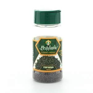 Горчица чёрная Бестофиндия (Bestofindia Mustard Seeds), 50г