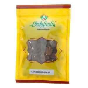 Кардамон черный Бестофиндия (Bestofindia Black Cardamom), 50г