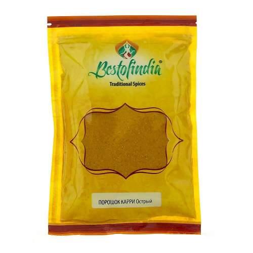 Порошок Карри острый Бестофиндия (Bestofindia Curry Powder Hot), 100г