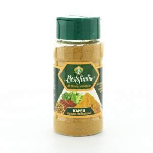 Порошок Карри слабоострый Бестофиндия (Bestofindia Curry Powder Mild), 50г