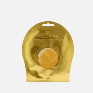 Гидрогелевые патчи для глаз золотые Kocostar (Princess Eye Patch Gold), 2шт