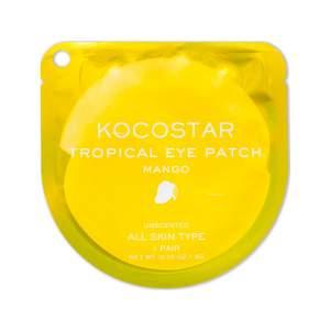 Гидрогелевые патчи для глаз Тропические фрукты манго Kocostar (Tropical Eye Patch Mango), 2шт