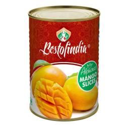 Манго Альфонсо дольки Бестофиндия (Mango Alphonso Slices Bestofindia), 450г