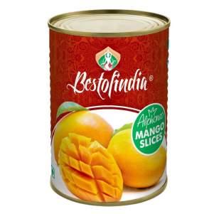 Манго Альфонсо кусочки Бестофиндия (Mango Alphonso Slices Bestofindia) , 450г