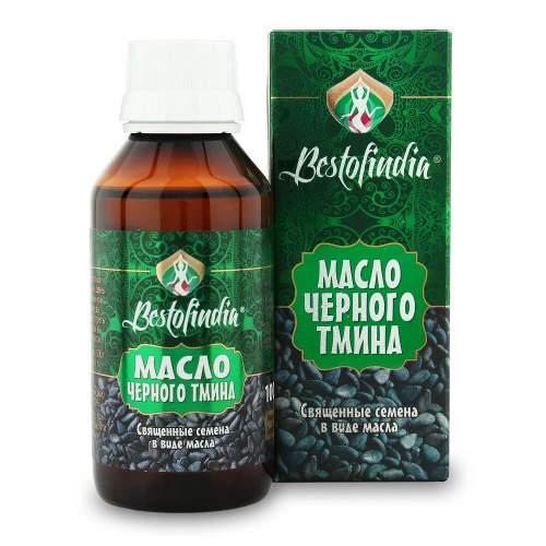 Масло чёрного тмина Бестофиндия (Bestofindia Kalonji Seed Oil), 100мл