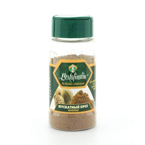 Мускатный орех молотый Бестофиндия (Bestofindia Nutmeg Powder), 50г