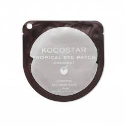 Гидрогелевые патчи для глаз Тропические фрукты кокос Kocostar (Tropical Eye Patch Coconut), 2шт