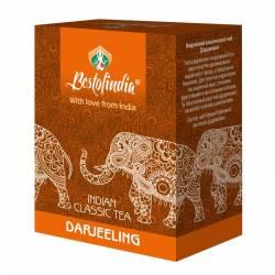 Чай черный индийский листовой Дарджилинг Бестофиндия (Darjeeling Indian Classic Tea Bestofindia), 100г