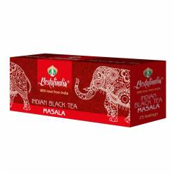 Чай черный индийский пакетированный Масала Бестофиндия (Masala Indian Black Tea Bestofindia), 25шт