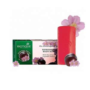 Мыло для тела Биотик Био Гималайская Слива (Biotique Himalayan Plum Revitalizing Body Soap), 150г