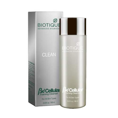 Очищающая пенка для умывания Биотик Адвансед (Biotique Advanced BXL Cellular Foaming Cleanser), 190мл