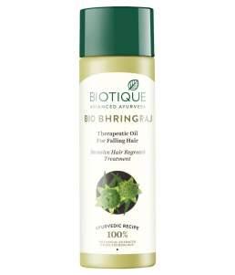 Масло для роста волос Биотик Био Брингарадж (Biotique Bio Bhringraj Therapeutic Oil For Falling Hair), 120мл