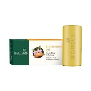 Мыло для тела Биотик Био Миндальное Масло (Biotique Bio Almond Oil Nourishing Body Soap), 150г