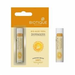 Бальзам для губ питательный Биотик Био Алоэ Вера (Biotique Bio Aloe Vera Nourishing Lip Balm), 5г