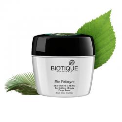 Смягчающий крем для бритья Биотик Био Пальмира (Biotique Bio Palmyra Expert Shave Cream), 180г