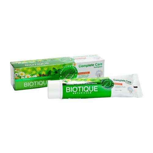 Аюрведическая зубная паста Биотик Био Гвоздика и Тулси (Biotique Bio Clove&Tulsi), 140г