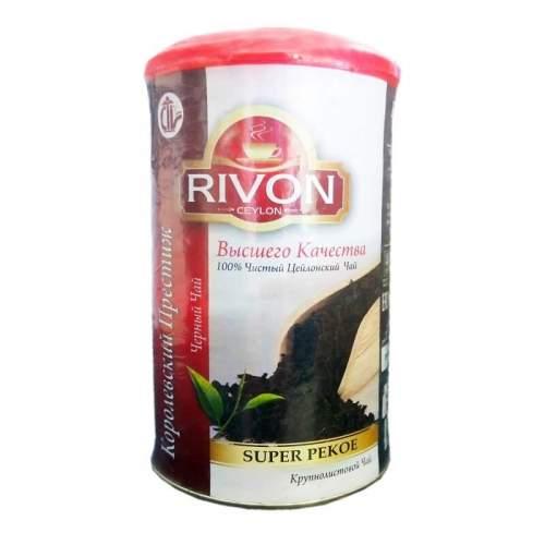 Чай чёрный Супер Пекое Ривон (Rivon Ceylon Super Pekoe Black Tea), 100г