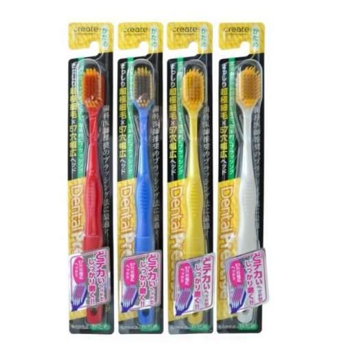 Зубная щетка с широкой чистящей головкой и супертонкими щетинками Create (жесткая), 1шт