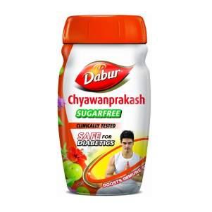 Чаванпракаш без сахара Дабур (Dabur Chyawanprakash Sugarfree), 500г