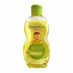 Массажное масло для детей Олива Дабур ДермоВива (Dabur DermoViva Baby Olive Massage Oil), 200мл