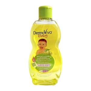 Шампунь для детей Олива Дабур ДермоВива (Dabur DermoViva Baby Olive Shampoo), 200мл