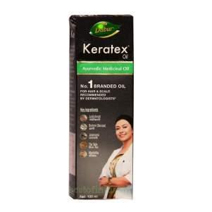 Масло для волос и кожи головы Дабур Кератекс (Dabur Keratex Oil), 100мл