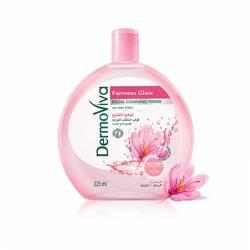 Тоник для лица Естественное сияние с шафраном Дабур ДермоВива (Dabur DermoViva Fairness Glow Facial Cleansing Toner), 225мл