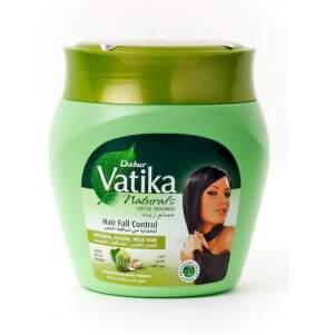 Маска против выпадения волос Дабур Ватика (Dabur Vatika Naturals Hair Fall Control Hot Oil Treatment), 500мл