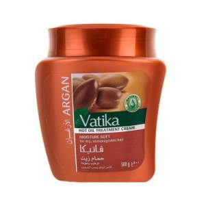 """Маска для волос Vatika Argan """"Мягкое увлажнение"""" с маслом арганы Дабур Ватика (Dabur Vatika Hot Oil Treatment Cream Moisture Soft), 500мл"""