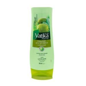 """Кондиционер для нормальных волос """"Питание и Защита"""" с маслом оливы Дабур Ватика (Dabur Vatika Naturals Nourish&Protect Conditioner Normal Hair), 200мл"""