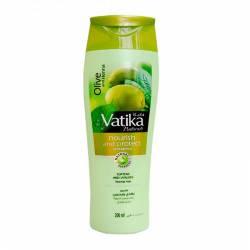 """Шампунь для нормальных волос """"Питание и Защита"""" с маслом оливы Дабур Ватика (Dabur Vatika Naturals Nourish&Protect Shampoo Normal Hair), 200мл"""