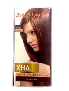 Аюрведическая краска для волос Хна Дэй Ту Дэй Кэр (DAY 2 DAY Care), 100г