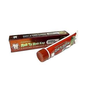 Аюрведическая зубная паста Защита От Кариеса Дэй Ту Дэй Кэр (DAY 2 DAY CARE Cavity protection), 100г