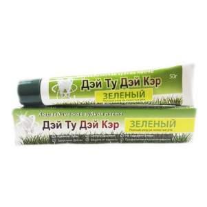 Аюрведическая зубная паста Зеленая Дэй Ту Дэй Кэр (DAY 2 DAY Care Green Toothpaste), 50г