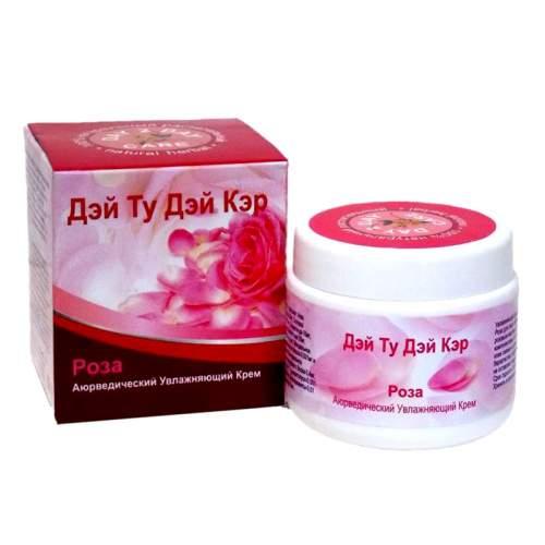 Аюрведический увлажняющий крем для лица Роза Дэй Ту Дэй Кэр (Day 2 Day Care), 100г