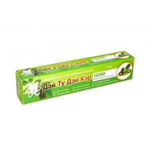 Аюрведическая зубная паста Ним Дэй Ту Дэй Кэр (DAY 2 DAY CARE Neem), 100г