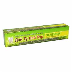 Аюрведическая зубная паста Полный Уход За Полостью Рта Зеленый Дэй Ту Дэй Кэр (DAY 2 DAY CARE Green), 100г