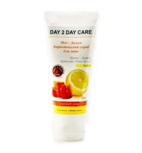 Аюрведический скраб для лица Мед и лимон Дэй Ту Дэй Кэр (DAY 2 DAY Care), 50мл