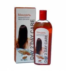 Аюрведическое масло для волос Миндаль Дэй Ту Дэй Кэр (DAY 2 DAY Care), 200мл