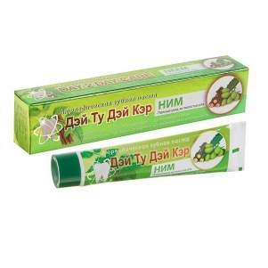 Аюрведическая зубная паста Ним Дэй Ту Дэй Кэр (DAY 2 DAY CARE Neem Toothpaste), 50г