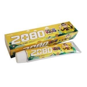 Зубная паста детская Банан Дентал Клиник 2080 (Banana Kids Toothpaste Dental Clinic 2080), 80г
