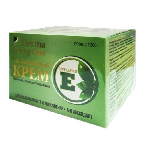 Увлажняющий массажный крем с витамином Е Травяной Дерма Лавин Кэр (Derma Loving Care), 200г