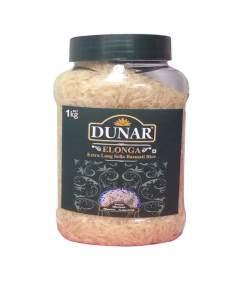 Рис Басмати Длиннозерный Дунар Элонга (Dunar Elonga Exrta Long Sella Basmati Rice), 1кг