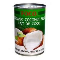 Органическое кокосовое молоко FOCO (Organic coconut milk FOCO) 10-12%, 400мл