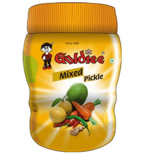 Пикули из смеси овощей Голди (Goldiee Mixed Pickle), 300г