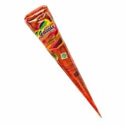 Оранжевая хна с блёстками для мехенди в конусе Голеча (Golecha Glitter Henna Cone), 25мл