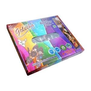 Набор хны с блёстками для мехенди в конусе (Golecha Glitter Henna Cone),12шт